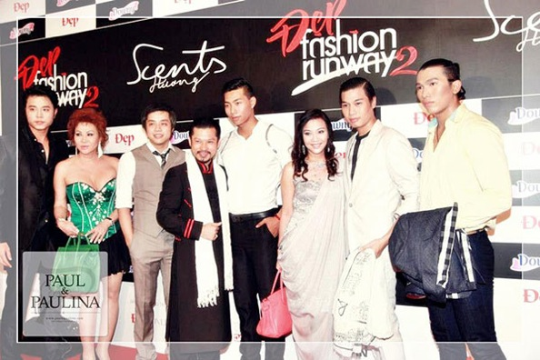 ĐẸP Fashion Runway 2012's red carpet