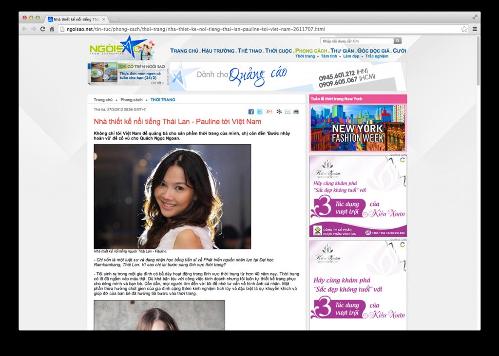 Online News www.ngoisao.net