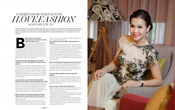 Lady Luxury Magazine; Business Style