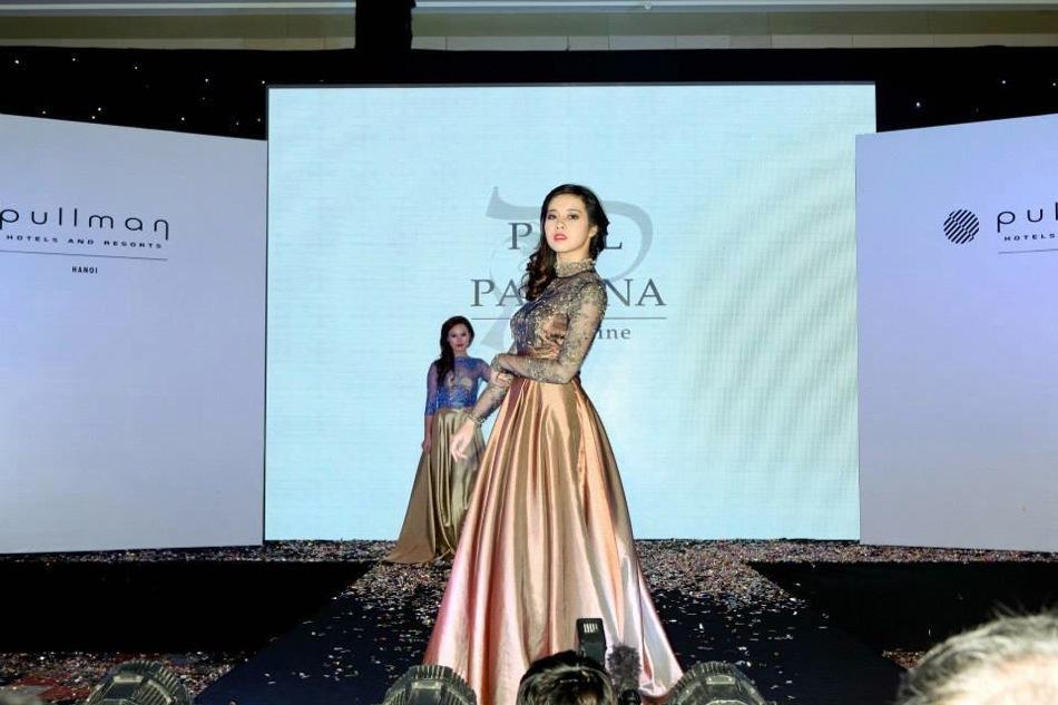 Designer Pauline Catwalk Event Grand Opening 5 Stars PULLMAN HANOI, VIETNAM