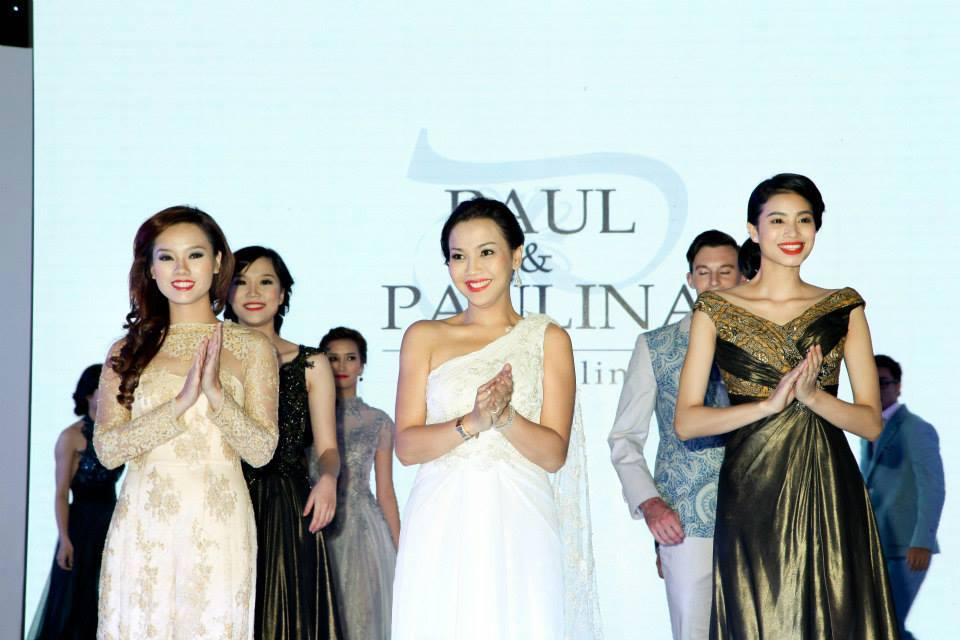 Paul & Paulina Fashion Show in Pullman Hanoi Hotel Grand Opening