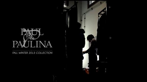 "PAUL & PAULINA BY PAULINE'S ""LA VIE EST BELLE"" COLLECTION FOR FALL/WINTER 2013"