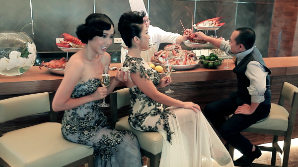 """PAUL & PAULINA   BST THE PHOTOSHOOTING OF THE """"MAGNIFICENT DINNER"""""""